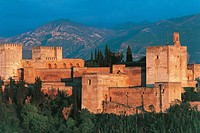 Spain - Andalusia - Granada. Alhambra (UNESCO World Heritage List, 1984)