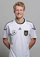 Andre Schuerrle, official portrait of the German National Football Team