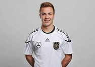 Mario Goetze, official portrait of the German National Football Team