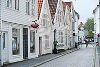 Lille Oevregaten, Bergen, Hordaland, Norway, Scandinavia, Northern Europe, PublicGround