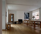ARTIST´S HOUSE AND STUDIO TONY FRETTON LONDON U.K. 2009 DINING AREA