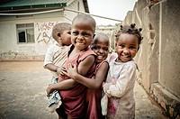 Street children in Kampala, Uganda, East Africa, Africa