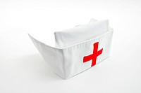 Nurse cap, isolated on white background