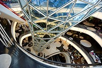 MyZeil shopping center, architect Massimiliano Fuksas, Frankfurt am Main, Hesse, Germany, Europe