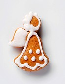 Gingerbread cookie in the shape of an angel