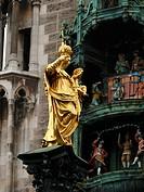Marienfigur auf dem Marienplatz in München