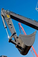 industrial series: heavy duty scoop of excavator
