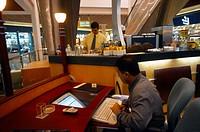 Dubai UAE Internet Cafe Burjuman Shopping Centre