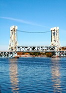 houghton hancock verical lift bridge in michigan
