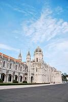 famous Hieronymites Monastery landmark in Lisbon, Portugal