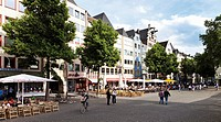 Heumarkt square, Cologne, North Rhine-Westphalia, Germany, Europe