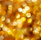 Christmas abstract bright golden lights background