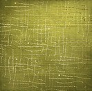 Abstract green background with curls. Grunge textile
