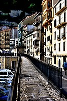 Donostia high contrast city landscape