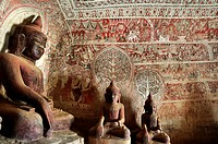 Burma, Myanmar, Monywa, Po Win Daung caves, troglodytics temple dated 14 th  century
