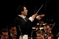 Concert of the Music Institute Koblenz with the SWR Symphony Orchestra Baden-Baden and Freiburg, conductor Alejo Pérez, Koblenz, Rhineland-Palatinate,...