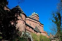 Haut-Koenigsbourg castle, Orschwiller, Alsace, France