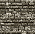 Seamless Stone Brick Wall as Textured Background