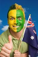 Australian supporter
