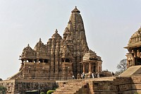 Khajuraho Group of Monuments, UNESCO World Heritage Site, Madhya Pradesh, India, Asia