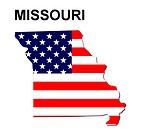 USA State Map Missouri