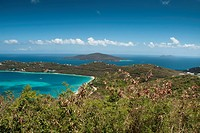 Saint Thomas Landscape and Colors, Caribbean