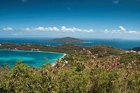 Saint Thomas Landscape and Colors, Caribbean