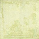 Light cream handmade paper with grunge frame background