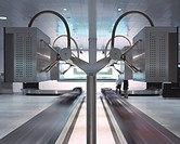 AIRSIDE CENTER ZURICH AIRPORT BAGGAGE RECLAIM AREA _ NGP INDUSTRIAL DESIGN