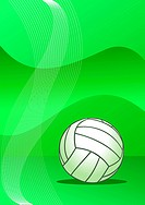Abstract volleyball background  vector illustration