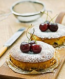 Mini chocolate_cherry cakes