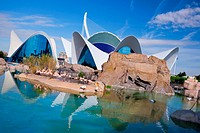 Oceanographic, City of Arts and Sciences, Valencia Comunity, Valencia, Spain, Europe