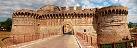 fortress in tuscany italy, colle val d´elsa