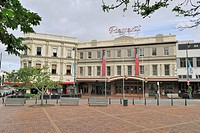 Historic Theatre at Octagon, Dunedin, South Island, New Zealand