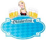 Invitation card to the Oktoberfest