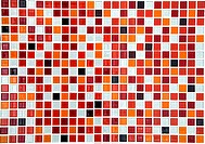 red ceramic mosaic background