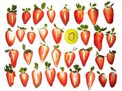 Strawberries and Kiwi