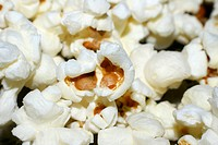 popcorn macro background