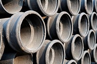 Close up of industrial pipes background