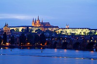 The Prague Castle is one of the biggest castles in the world