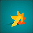 Abstract design element, vector illustration