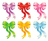 festive bows for a design christmas gifts
