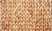 Basket texture background of wicker rings