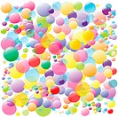 Colored bubbles