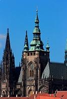 St Vitus´s Cathedral at Prague, Czech republic