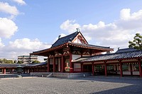 Shitennoji Tempel in Osaka, Japan