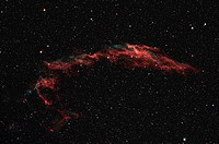 NGC 6992, The Eastern Veil Nebula.