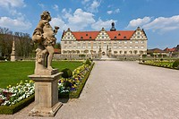 Weikersheim Castle, Weikersheim, Main-Tauber district, Baden-Wuerttemberg, Germany, Europe