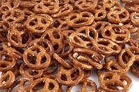 A pretzel wallpaper with only pretzels.