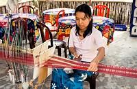 Vietnam. Weaver